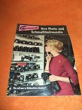 Werbung Reklame Charmant Foto Film Prospekt Katalog mit Preisangaben Nov. 1962