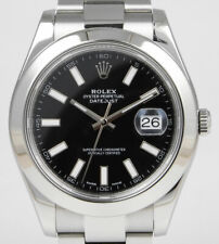 Rolex Oyster Perpetual DateJust II 41mm - 116300 - Black Dial (2013)