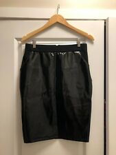 HM Patent Leather Skirt Size Small