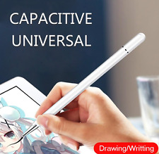 2 in 1 White Precision Fine Tip Professional Stylus Pen for iPad Samsung Huawei