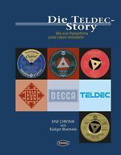 Die TELDEC-Story, Rüdiger Bloemeke, Paperback-Ausgabe, Voodoo Verlag 2020