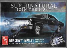 BL AMT Supernatural 1967 '67 Four Door Chevy Impala Sport Sedan in 1/25 1124 ST