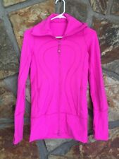 Lululemon Pink Forme Jacket Size 2