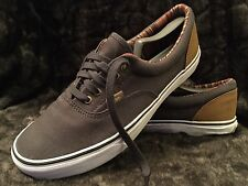 VANS Classic Off The Wall Gray Skateboard Sneakers Shoes Men's 9.5 Women's 11
