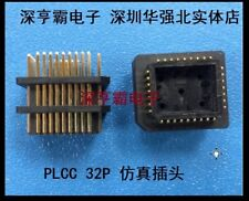 PLCC 32 PLCC32 Connector for programmer 8051 emulator