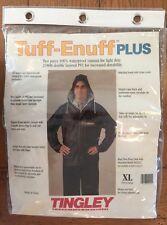 Tuff-Enuff Plus 2 Piece Waterproof Rain Suit .25mm PVC Size XL Blue New (bin 8)