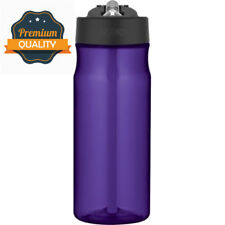 Thermos Hydration Water Bottle with Straw, Purple, 530 ml