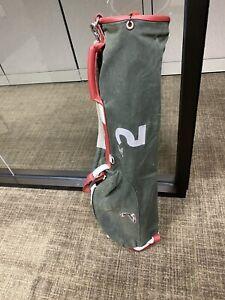 "Mackenzie Pinehurst Waxed Canvas Golf Bag 7"" Single Pocket"