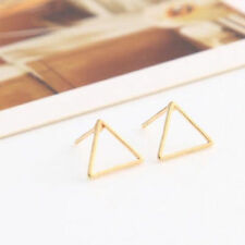 Hot Fashion Women Earring Hollow Geometric Bar Circle Ear Stud Earrings Jewelry