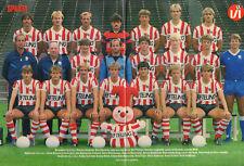 V.I. 1984 nr. 40 - SPARTA (POSTER) / ERWIN KOEMAN / FC UTRECHT / PETER HOUTMAN