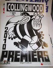 2010 Collingwood Football Club :  AFL Premiers :  Limited Edition Weg Art