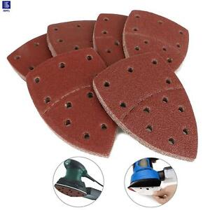 40-800 Grits Mouse Sanding Sheets Hook and Loop Sander Pads 11-Holes Sand Paper