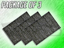 C35484 CABIN AIR FILTER FOR A4 ALLROAD QUATTRO S4 S6 RS4 RS6 PACKAGE OF 3