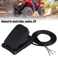 Electric Bikes Plastic ATV Foot Accelerator Throttle Speed Control Brake Pedal