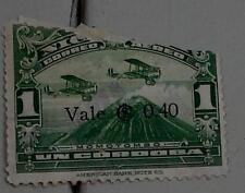 Nice Vintage Used Correo Aereo Nicaragua 1 Uncordoba Stamp, Green, GOOD COND