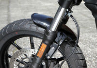 FRONT FENDER SUPER SHORT BOBBED 16+ DUCATI SCRAMBLER SIXTY TWO TRIALS SIXTY2 62