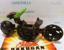 Bakugan Ramdol Black Darkus Gundalian Invaders DNA 1050G & cards