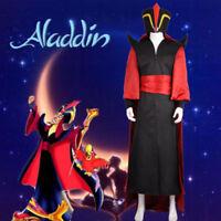 Aladdin And His Lamp Cosplay Wizard Jafar Cosplay Costume Halloween COS AA.0699