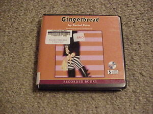 Gingerbread by Rachael Cohn (2002, Audio 5 CDs, Unab, Ex-Library) Free Shipping!