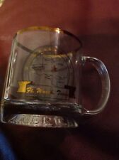 Ft. Worth TX GLASS COFFEE MUG W/ United States Of America On Bottom