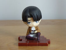 Authentic Attack On Titan Levi Ackerman Bandai Sitting Figure