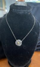Lagos Daisy Necklace Sterling Silver Gold 18K