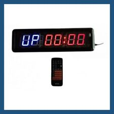 Crossfit Sports & MMA Interval Training Digital Timer 6-Digits 14″L with Remote