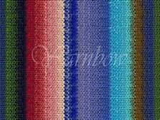 NORO ::Kureyon #354:: wool knitting yarn Fall-2014 Blues-Sky-Greens-Red-Rose-Nut
