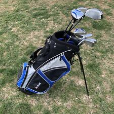RAM G-Force Tour Golf Club Set Bag Rain Cover Dual Shoulder Strap Blue RH