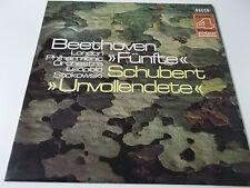 38436 - BEETHOVEN FÜNFTE & SCHUBERT UNVOLLENDETE (STOKOWSKI) - PHASE 4 VINYL LP