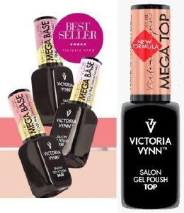 Victoria Vynn Gel Polish HYBRID Base Top No Wipe Gloss Matt Soak Off Shimmer