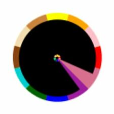 CHROMACHRON by TIAN HARLAN ― Swiss Color Time WRISTWATCH ― GOLD or BLACK ― NOS