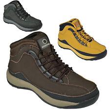 Botas Para Hombre De Seguridad Puntera De Acero Zapatos De Trekking Senderismo Entrenadores Tobillo Talla 6-13