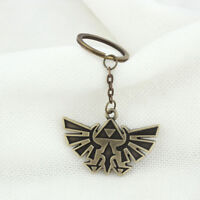 Legend of Zelda Triforce Keychain Zelda Logo Key Chain Key Ring Fashion New