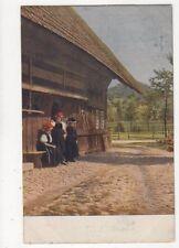 Bauernhaus im Schwarzwald Vintage Postcard Germany 395a [2]