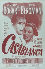 Casablanca 1942 Retro Movie Poster A0-A1-A2-A3-A4-A5-A6-MAXI 235