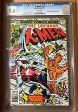 X-Men #121 CGC 9.6 WP. 1st Full App Alpha Flight. Wolverine, Cyclops. Newsstand.