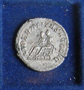 Antoninian PHILIPPUS II als Augustus – 2 Kaiser sitzend – Antiochia - SELTEN