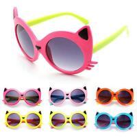 Sunglasses Baby Girls Boy Cartoon Cat UV400 Toddler Baby Sunglasses %~