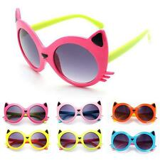 Sunglasses Baby Girls Boy Cartoon Cat UV400 Toddler Baby Sunglasses 6Colors
