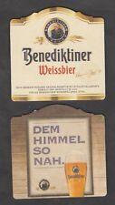 Beer MAT, COASTER, Benedictine Weissbräu, Ettal/Upper Bavaria #2596#