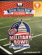NCAA College Football Military Bowl Patch 2013/14 Maryland, Marshall