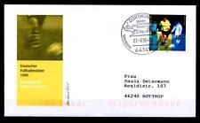 Deutscher Fußballmeister 1996: Borussia Dortmund.FDC(3)-Brief.Dortmund. BRD 1996