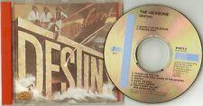 """The Jacksons    """"Destiny""""     Rare Austrian 78 CD"""