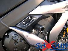 Yamaha 2002-2003 YZF-R1 Shogun Frame Sliders No Cut Version Black