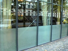 Quality Frosted Glass Privacy Window Film Silver Etch Vinyl - 610mm x 1m