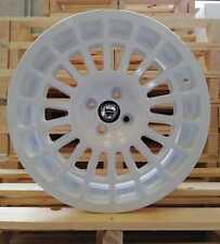 """set 4 Cerchi in Lega 8jx17"""" 4x98 per LANCIA DELTA INTEGRALE HF-(MW) wheels Ruote"""