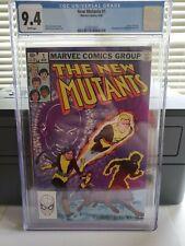 New Mutants #1 Marvel 1983 1st issue in solo comic  Origin of Karma CGC 9.4 NM