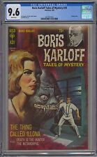 Boris Karloff Tales of Mystery #25 CGC 9.6 NM+ Wp Gold Key 1969 Silver Age Gem!!