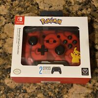 Nintendo Switch PowerA Pokemon Enhanced Wired Controller Pikachu Factory Sealed